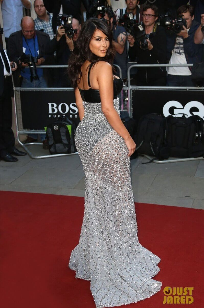 "Kim Kardashian в латексе на ""GQ Men of the Year Awards 2014"""